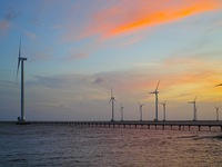 Work starts on two wind farms in Bac Lieu Province