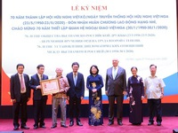 70th traditional day of Vietnam-Russia Friendship Association marked in Hanoi