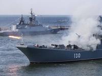 Hải quân Nga tập trận quy mô lớn tại Biển Đen