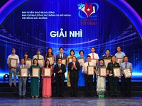 VTV won 04 National Awards on External Information