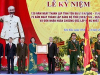 Yen Bai Province marks 120th founding anniversary
