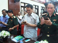 Text message programme launched to pay gratitude to Truong Son soldiers