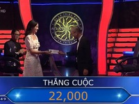 Hoa hậu Lương Thùy Linh giành tấm séc 22 triệu ở Ai là triệu phú