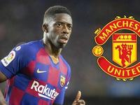 """Chuyển nhượng bóng đá quốc tế ngày 12/8: Không có Jadon Sancho, Man Utd nhắm """"sao xịt"""" của Barca"""