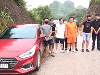 Phát hiện xe ô tô chở 7 người xuất cảnh trái phép sang Trung Quốc