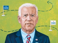 Liệu ứng cử viên Tổng thống Mỹ Joe Biden có cán đích 'cuộc đua đời người'?
