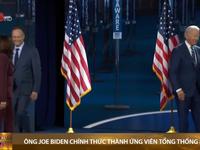 Ông Joe Biden chính thức thành ứng viên tổng thống Mỹ