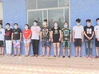 Bắt 11 người Trung Quốc nhập cảnh trái phép vào Việt Nam tổ chức đánh bạc