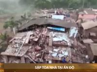 Sập tòa nhà 5 tầng tại Ấn Độ