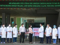 Medical blockade lifted from Da Nang's largest hospital