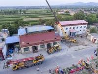 Sập nhà hàng tại Trung Quốc: 29 nạn nhân thiệt mạng, thêm nhiều người bị thương