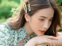 Trần Vân khoe vẻ đẹp ngọt ngào với váy hoa nhí