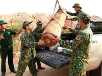 Quảng Ninh di dời thành công quả bom nặng trên 450 kg