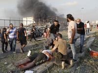 Nổ lớn làm rung chuyển thủ đô Lebanon, 73 người thiệt mạng, hàng nghìn người bị thương