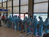 230 công dân Việt Nam từ Đài Loan (Trung Quốc) về nước an toàn