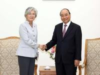 Prime Minister receives RoK Foreign Minister