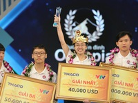 Ninh Binh schoolgirl crowned Road to Mount Olympus in its 20th year