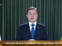 Tổng thống Hàn Quốc kêu gọi quốc tế ủng hộ chấm dứt chiến tranh Triều Tiên