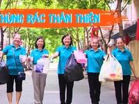 'Thùng rác thân thiện' - Phong trào nhỏ, ý nghĩa lớn
