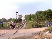 Nguy cơ tai nạn đường sắt tại các lối đi tự mở