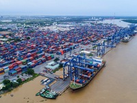 Vietnam's trade revenue estimated to exceed US$336.2 billion in eight months