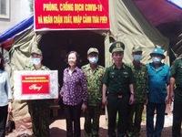 Politburo member Truong Thi Mai visits Thanh Loa Border Guard