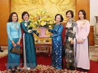 Mass mobilisation official receives ASEAN women delegation