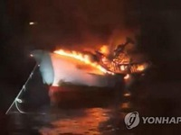 Five Vietnamese missing in fishing boat fire off Jeju Island