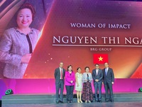 Chairwoman of BRG Group honored with Woman of Impact Award