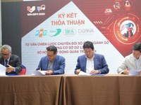 Deals signed topromote wood processing sector's digital transformation