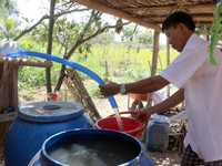 Mekong Delta people spend more on freshwater
