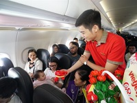 Vietjet launches promotion to celebrate International Women's Day