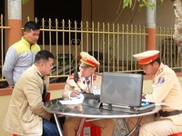 Traffic fines to be collected online on trial basis