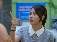 Hướng dương ngược nắng - Tập 13: Cuối cùng Minh (Thu Trang) đã chịu mặc váy nhưng vẫn đánh bôm bốp em trai Trí ngu (Đình Tú)