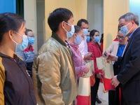 Warm support programme held to assist disadvantaged children