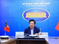 Vietnam, Timor-Leste to maintain mutual support at regional, int'l forums