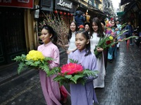 Hanoi to revitalize traditional Tet space in Old Quarter