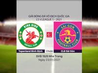 VIDEO Highlights: Topenland Bình Định 1-0 CLB Sài Gòn (Vòng 2 LS V.League 1-2021)