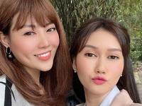 'Lan Cave' Thanh Hương sánh đôi cùng 'chị Mận' Hương Giang trong phim mới