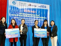 VND1.2 billion to support disaster-hit women in Quang Tri