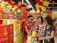 Hanoi reserves goods worth nearly VND40 trillion for Tet demand
