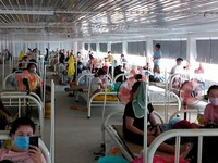 Dong Nai puts into use largest temporary COVID-19 treatment hospital