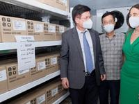 PM thanks Australia for COVID-19 vaccine donation