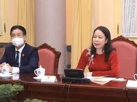 Vice President meets female foreign ambassadors, chargés d' affaires