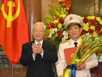 Deputy Minister of Public Security Nguyen Van Son promoted to Colonel General