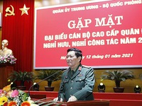 Gathering held for generations of high-ranking military officers