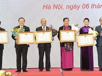 Parliamentary leaders honoured for fostering national solidarity