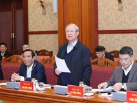 Top priority given to preparations for 13th National Party Congress: Politburo member