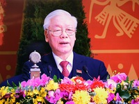 Party Chief declares National Party Congress a great success