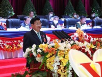 Thongloun Sisoulith becomes new leader of Lao People's Revolutionary Party